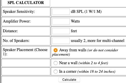 Power calculator ( Amp , AVR) - How much power do I need