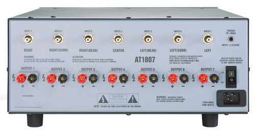 The At1800 Is Available In 6 Configurations From The At1802 2 Channel Model To The At1807 7 Channel Version