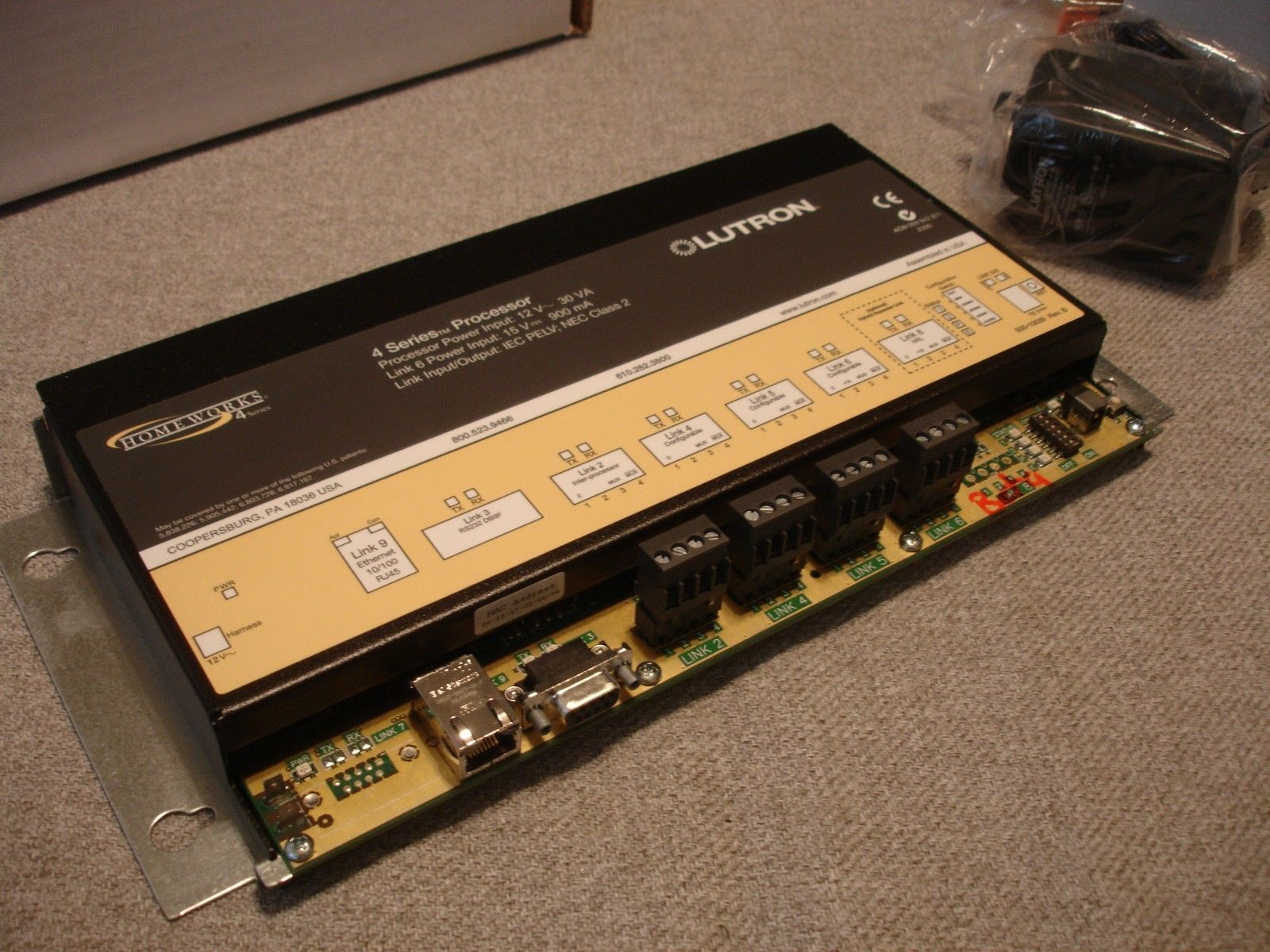 for sale: Lutron HomeWorks H4P5-120 4 Series Illumination Processor ...