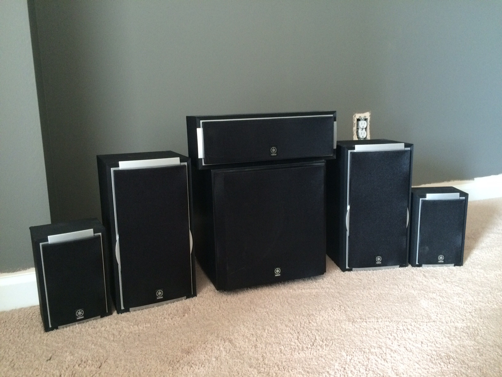 how to connect subwoofer to receiver